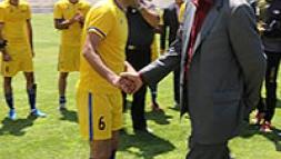 تیم فوتبال نفت ایرانول رقیب خود را شکست داد